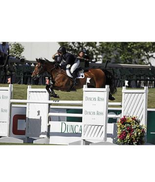 Beezie Madden and Simon Win $34,000 Duncan Ross Cup at Spruce Meadows