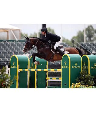 Sweetnam and Cyklon 1083 Prove Too Quick to Catch in $34,000 FEI 1.45m Speed Stake