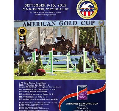 Prize List for 2015 American Gold Cup CSI4*-W Now Available Online