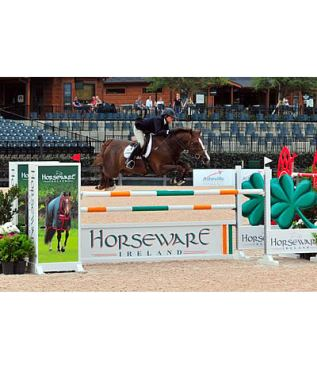 Colvin and Lumiere Finish Strong in $10,000 1.45m Horseware Ireland Open Jumpers at TIEC