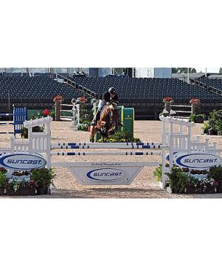 Darragh Kerins and Thunder D'Amaury Win $34k Suncast 1.45m FEI Welcome at Tryon Summer 4