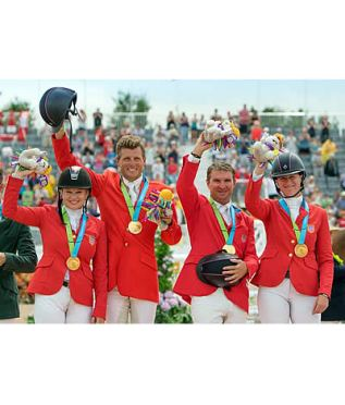 Eventing Double-Gold for Team USA
