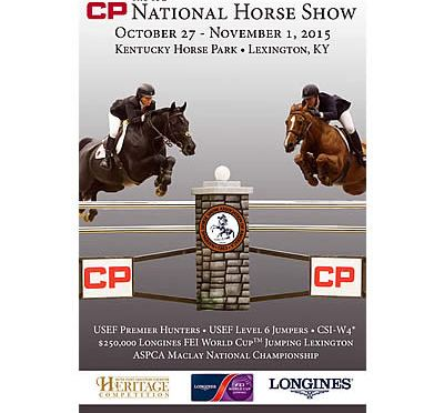 CP National Horse Show Prize List Available Online