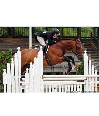 Winn Alden and Attila Top $2,500 USHJA National Hunter Derby at Lexington National Horse Show