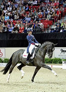 Charlotte Dujardin and Valegro to Compete at Rolex Central Park Horse Show Sept. 25-26