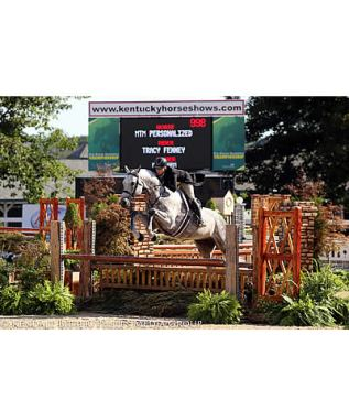 Tracy Fenney & MTM Personalized Win USHJA Pre-Green Incentive at Bluegrass Festival Horse Show