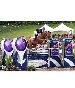 Schuyler Riley Claims Longines FEI World Cup Jumping North American League Opener in Bromont
