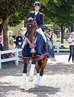 Tiko, Rosalut NHF, Folkestone Champions of Young & Developing Horse Dressage Nat'l Championships