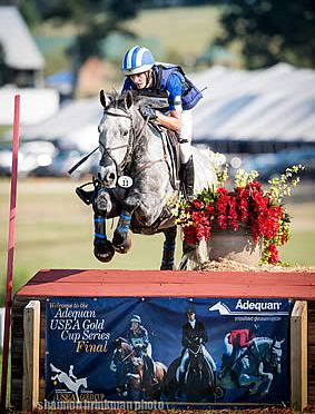 Fletcher and Atlantic Domino Lead Start to Finish in USEF Open Horse Trial Nat'l Championship