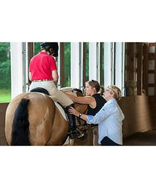 Riders and Coaches Enjoy Para-Equestrian Pipeline Training Camp and Three Day Clinic
