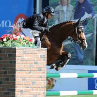 Eric Lamaze of CAN riding Fine Lady 5
