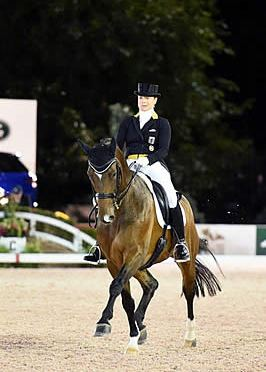 Isabell Werth Dominates US Open $75,000 Dressage Freestyle