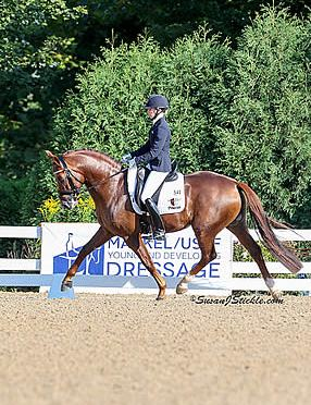Lisa Wilcox and Gallant Reflection HU Take Victory Gallop at USEF Young Horse Championships