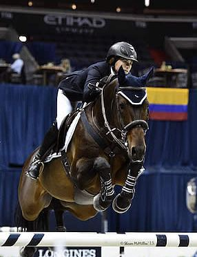 Victoria Colvin and Cafino Capture $35,000 Welcome Stake at WIHS