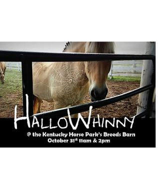 Celebrate Halloween with Horses at the Kentucky Horse Park