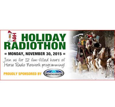 Horse Radio Network Live 12 Hour Holiday Radiothon