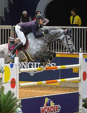 Nicola Philippaerts Wins $50,000 Weston Canadian Open at 2015 Royal Horse Show