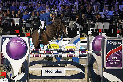 Ahlmann Makes It a Hat-Trick with Another Longines Victory at Mechelen