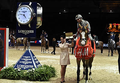 Emanuele Guadiano Does an Italian Job on the Longines FEI World Cup Leg