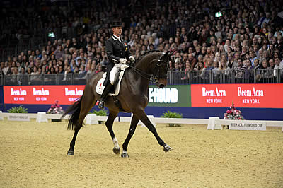 Carl Hester Claims Freestyle Victory at Olympia, the London International Horse Show