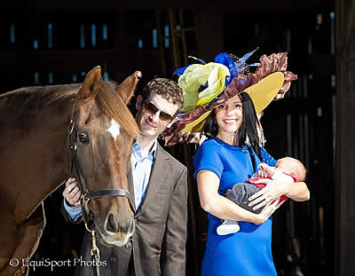 "7th Annual ""Hats Off to the Horses: The Road to the Derby"" Continues with the Mixed Pleasure Chapeau"