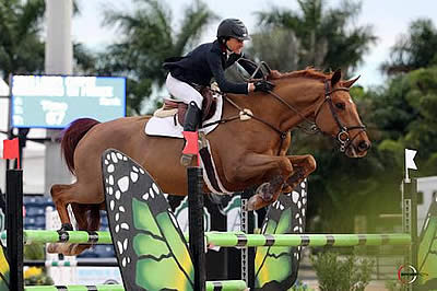 Laura Chapot Tops Large Field in $75,000 Rosenbaum Mollengarden PLLC Grand Prix at WEF