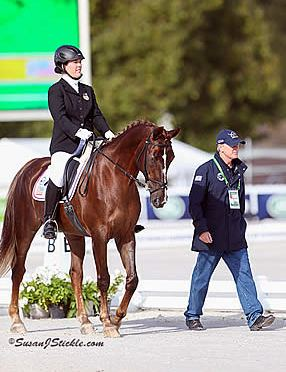 USEF High Performance Para-Equestrian Dressage Symposium Develop the Coach Program