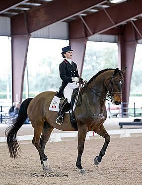 Belinda Trussell and Anton Capture Victory in FEI Grand Prix at AGDF 3