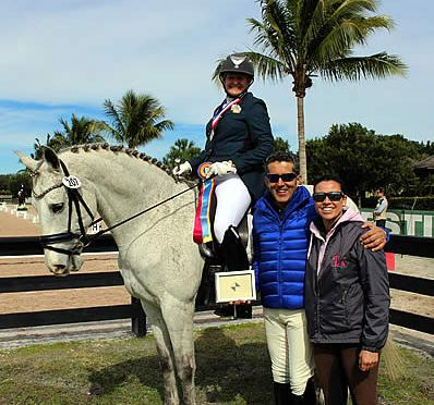 Piaffe Performance Awards Adult Amateur Grand Prix Rider at Adequan Global Dressage Festival