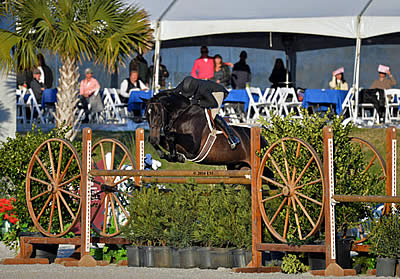 Kelley Farmer Claims Crown, Top Three Spots, Big Payday in $100k USHJA International Hunter Derby