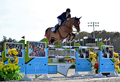 Scott Keach Brings Home the Blue Ribbon in $100,000 FEI City of Ocala Grand Prix