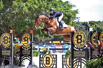 Beezie Madden Breezes to Victory with Coach at CP Wellington Masters