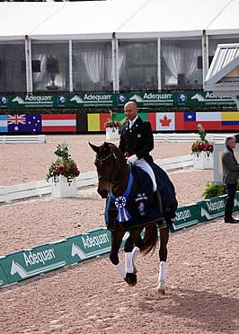 Steffen Peters and Rosamunde Notch Another Grand Prix Win and Vita Flex Victory Pass Award