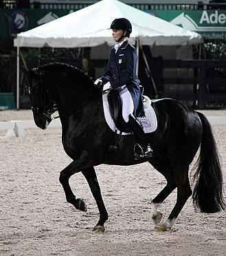 Bateson-Chandler Takes Top American Placing at Palm Beach Dressage Derby Grand Prix Freestyle CDI-W
