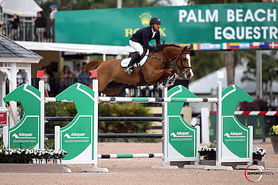 Farrington and Creedance Win $35k Suncast 1.50m Championship Jumper Classic at WEF