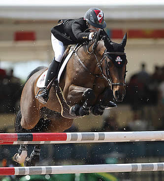 Tiffany Foster and Brighton Are Best in $35,000 Ruby et Violette WEF Challenge Cup Round 8