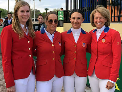 Hermès US Show Jumping Team Takes Second in FEI Nations Cup at CSIO4* Wellington