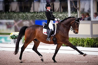 Belinda Trussell Breaks Records with Adequan Global Dressage Festival Wins