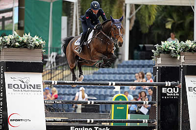 Lorenzo de Luca and Ensor de Litrange LXII Win $130k Horseware Ireland Grand Prix CSI 3* at WEF