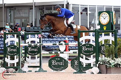 Doda de Miranda and AD Nouvelle Europe Z Win $35k Douglas Elliman 1.45m Classic at WEF