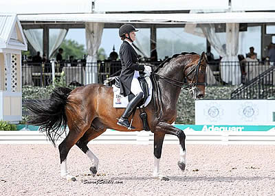 Ashley Holzer and Breaking Dawn Win FEI Grand Prix Freestyle CDI 3* on Final Day of AGDF