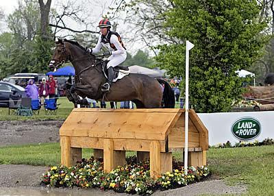 Lauren Kieffer Wins Land Rover 'Best Ride of the Day' at Rolex Kentucky Three-Day Event