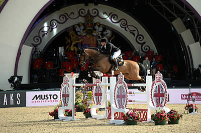 Britain's Show Jumpers Dominate at Royal Windsor