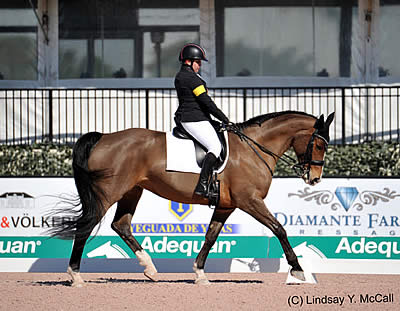 Sydney Collier and Western Rose Post Top Score at USEF Para-Dressage National Championships