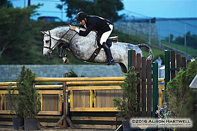 Atlanta Is Hot but Geitner Is on Fire! Wins $25,000 USHJA Int'l Derby