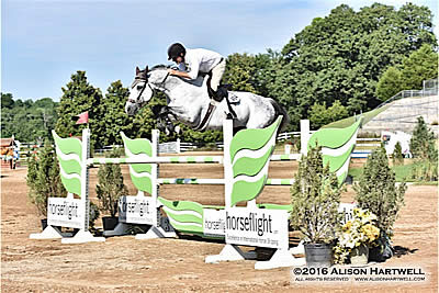 Geitner and Creativo Win the $10,000 Horseflight Open Welcome
