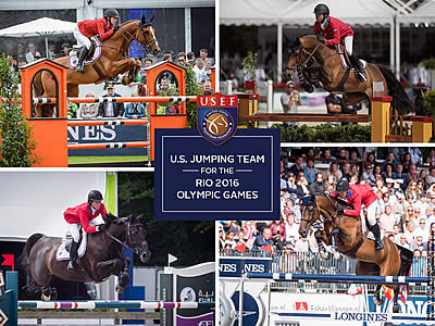 USEF Names US Olympic Show Jumping Team for Rio 2016 Olympic Games