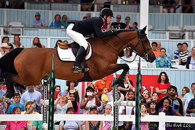 McLain Ward Closes Out Devon Horse Show with Open Jumper Championship