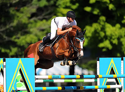 Matthias Hollberg Takes Home the Blue in the $25,000 Brook Ledge Grand Prix