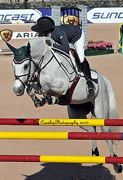 Ali Wolff and Caya Gallop to Glory in $35,000 1.45m Horseware Ireland Speed Stake CSI 4*
